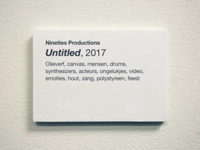 Untitled 2017 Joost de Haas